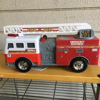 消防車のおもちゃ差し上げます