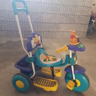 プーさんの三輪車