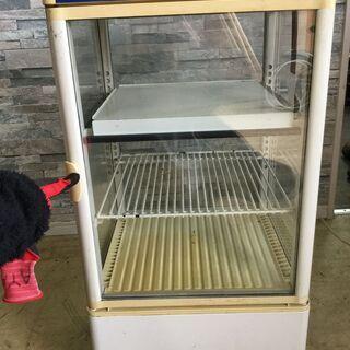 サンデン 温蔵 冷蔵ショーケース 冷蔵庫 両面扉 4面ガラ…