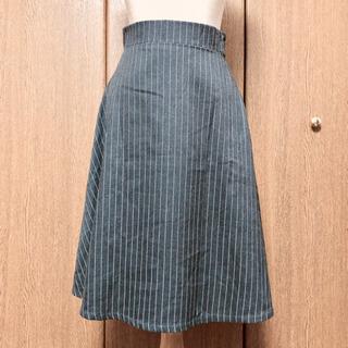 GRL フレアスカート ストライプ #87