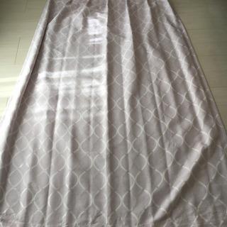 ニトリ ドレープ カーテン 2枚組 裏地付き 遮光2級 遮熱 - 千葉市