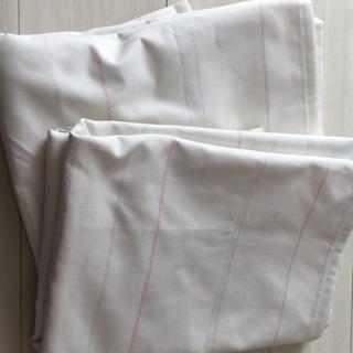 ニトリ レースカーテン 2枚組 遮熱 ミラー 花粉キャッチ 抗アレル物質の画像