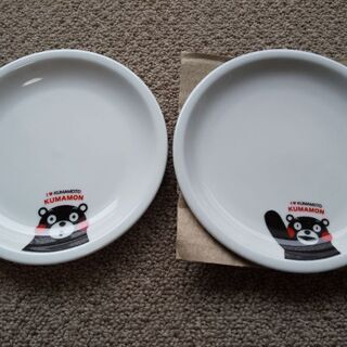 ●くまモンペアプレート 小さめお皿●