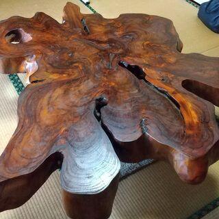 【ネット決済】天然木テーブル