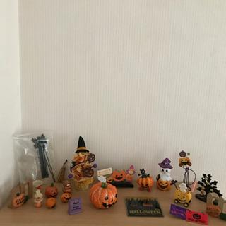 ハロウィン 置物セット かぼちゃ 夏ガーランドなど