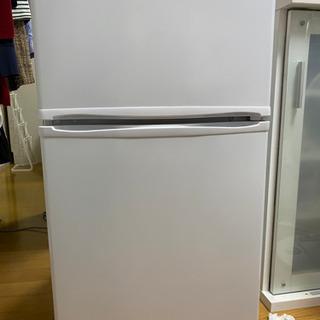 【中古格安】maxzen 冷蔵庫 90L 一人暮らし 2ドア マ...