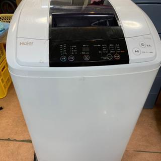 2015年 Haier 5.0kg 洗濯機 キズあり 🐼 …