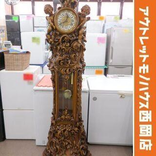 札幌市内限定 イタリア製 ホールクロック ロココ様式 置き時計 ...