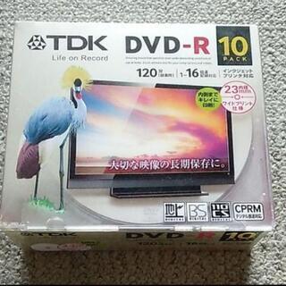 TDK DVD-R 10枚入り