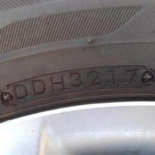 185 70 14 日産ノートeパワー純正鉄ホイールセット - 売ります・あげます