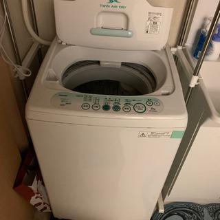 【取引相手決定】洗濯機 TOSHIBA (4月18日以降に引き取...