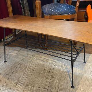 湾曲天板 ローテーブル デザインテーブル センターテーブル…