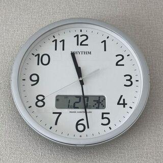 【まとめ買い優先】No,5_掛け時計電波時計(1台)