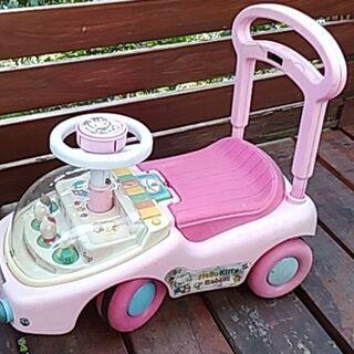 乗り物 手押し車 キティちゃん ピアノ 幼児