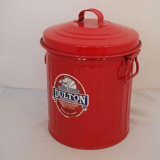 ★DULTON GARBAGE CAN RED