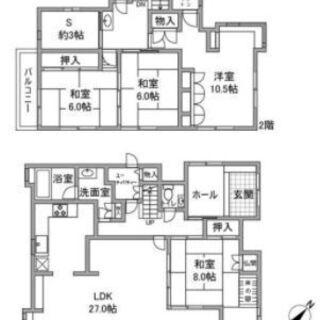 【白庭台】管理費0円❣バルコニーも庭もあるおしゃれな家族で住みや...
