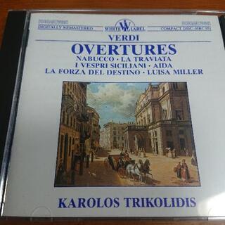 クラシックCD VERDI OVERTURES