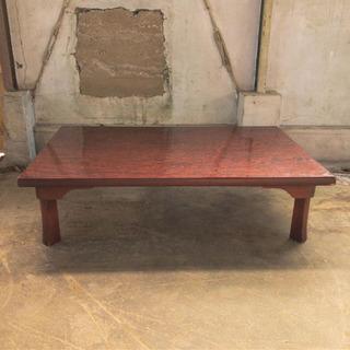 【値下げ】座卓 折脚 リビングテーブル 120cm