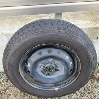 N BOX JF1 ホイール タイヤ セット 4本の画像
