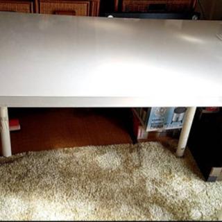 【終了】🚫早い物勝ち!★美品!IKEA 白いテーブル !の画像