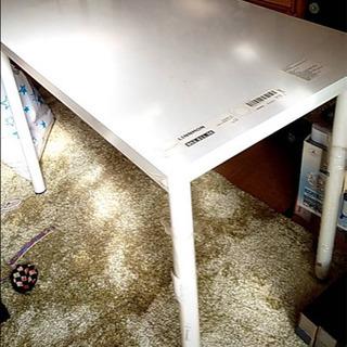 【終了】🚫早い物勝ち!★美品!IKEA 白いテーブル ! - 久留米市