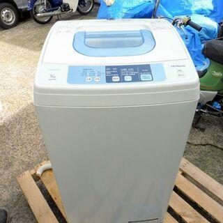 価格変更しました。 日立 全自動洗濯機 NW-5TR 2015年...
