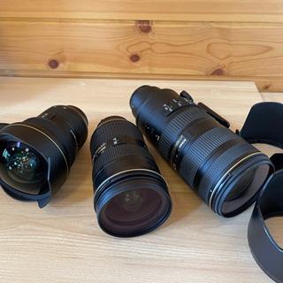 Nikon大三元レンズセット〔中古〕