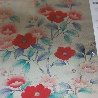 椿の刺繍名古屋帯