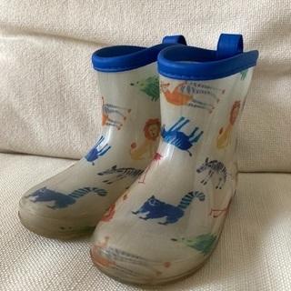 キムラタン 長靴 レインブーツ 15cm 中古 子ども キ…