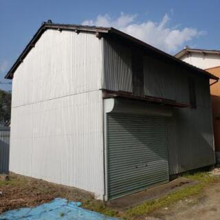貸倉庫(二階建て)