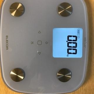 エレコム体重計(値下)