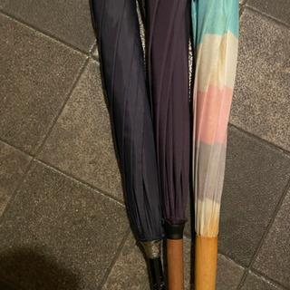 【値下げしました】長傘3本まとめて - 世田谷区