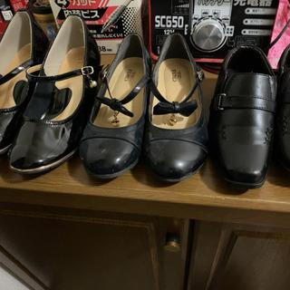 エナメル靴、革靴 子ども用