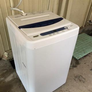 【お渡し済み】洗濯機 2019年製 5kg