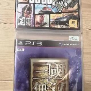 PS3 グランドセフトオート5 &三國無双6 セット