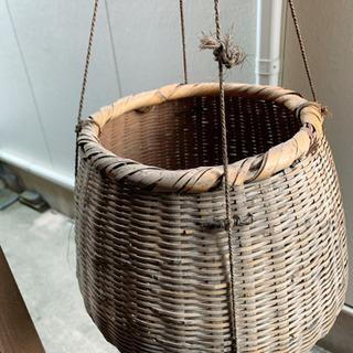 【ネット決済】竹細工 籠 アンティーク