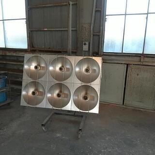 値下げ ナガイ パワーヒーター 遠赤外線乾燥機 塗装 自動…