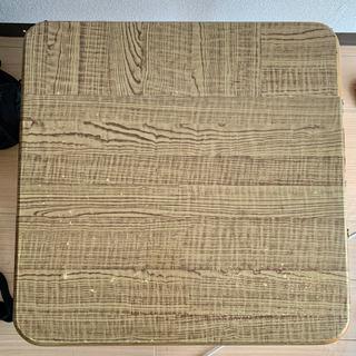 折りたたみテーブル オーク
