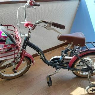 ミキハウス 自転車 14インチ