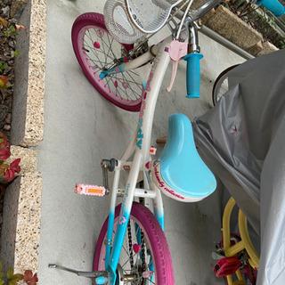 【ネット決済】こども用自転車 女児 保育園〜小学1年生