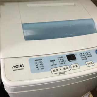 まだ現役の洗濯機 0円  3月19日まで募集