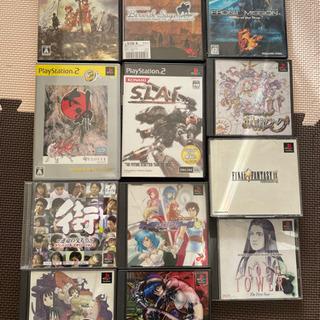 【無料】PS、PS2ゲームソフト