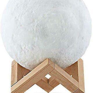 【新品】3D Moonlight ランプ  直径: 15 cm