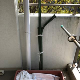 【ネット決済】グリーンカーテン 支柱 プランター セット