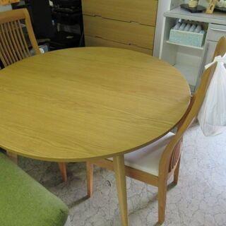 OTSUKA家具 食卓丸テーブル