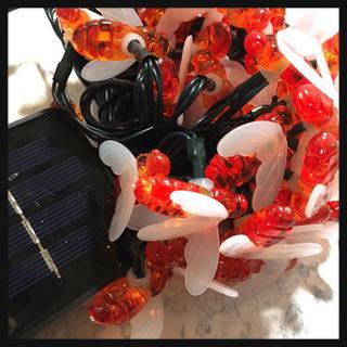 [未使用]自動点灯 防水 屋外可能LEDイルミネーションミツバチ...