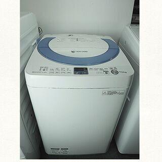 ★京都市内+隣接地域配達無料☆全自動洗濯機 シャープ 7K ES...