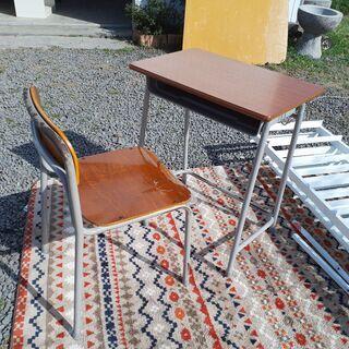 学校の机 スクールデスク 椅子付き