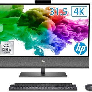 HP 液晶一体型パソコン インテル Core i7/32GBメモ...