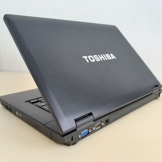 ☆SSD搭載で快適☆ TOSHIBA dynabook 15インチ SSD i3 Wi-Fi Windows10 - 売ります・あげます